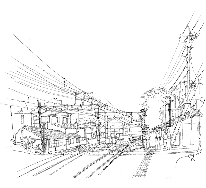 Tokyo Simple Drawing Tokyo is From Real Life