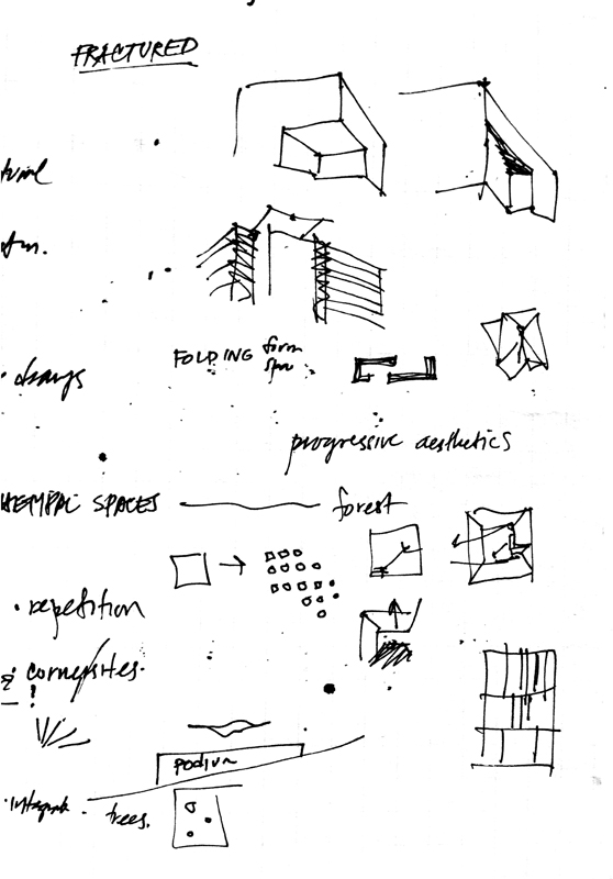 Architecture form space order seeing thinking drawing for Form space and design architects